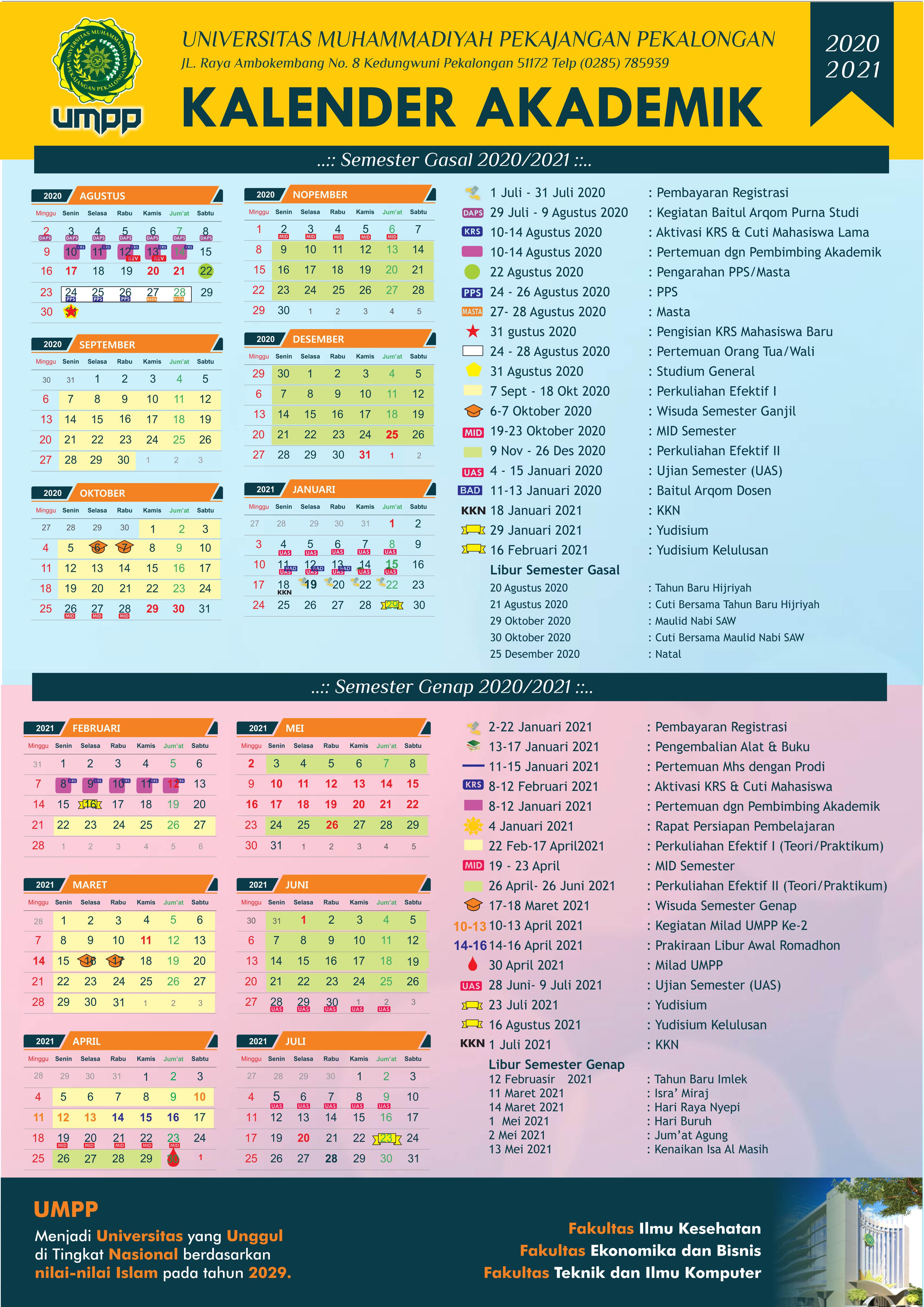 Kalender 2021 Muhammadiyah